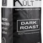 Koffee Kult DARK ROAST COFFEE BEANS (2 Pounds Whole Bean) Highest Quality Delicious Organically Sourced Fair Trade – Whole Bean Coffee – Fresh Coffee Beans