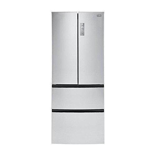 haier hrf15n3ags cu ft 4 door french door freezer refrigerator stainless steel. Black Bedroom Furniture Sets. Home Design Ideas