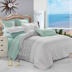 3 Piece Duvet Cover and Pillow Shams Set, Soft Microfiber Printed Reversible Design (Twin Size)