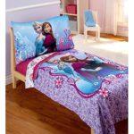 Disney Frozen Elsa & Anna 4-pc Toddler Soft and Comfy Bedding Set
