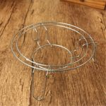 Steaming Rack Kitchen Cookware Stainless Steel Wire Stand Pot Holder Rack Kitchen Dining Bar Cookware Steamers