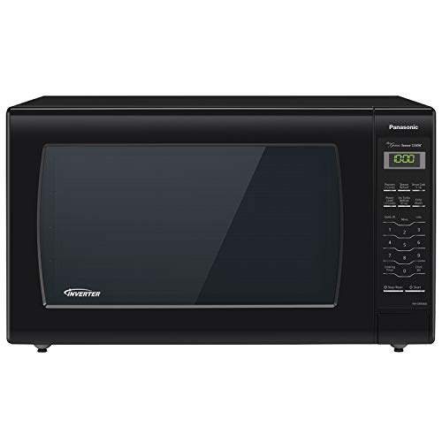 Panasonic Microwave Oven Nn Sn936b Black Countertop With